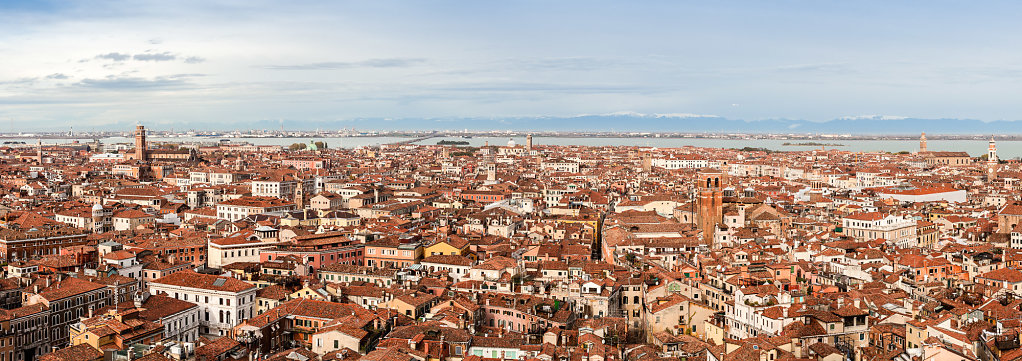 Venice and Alps Panorama
