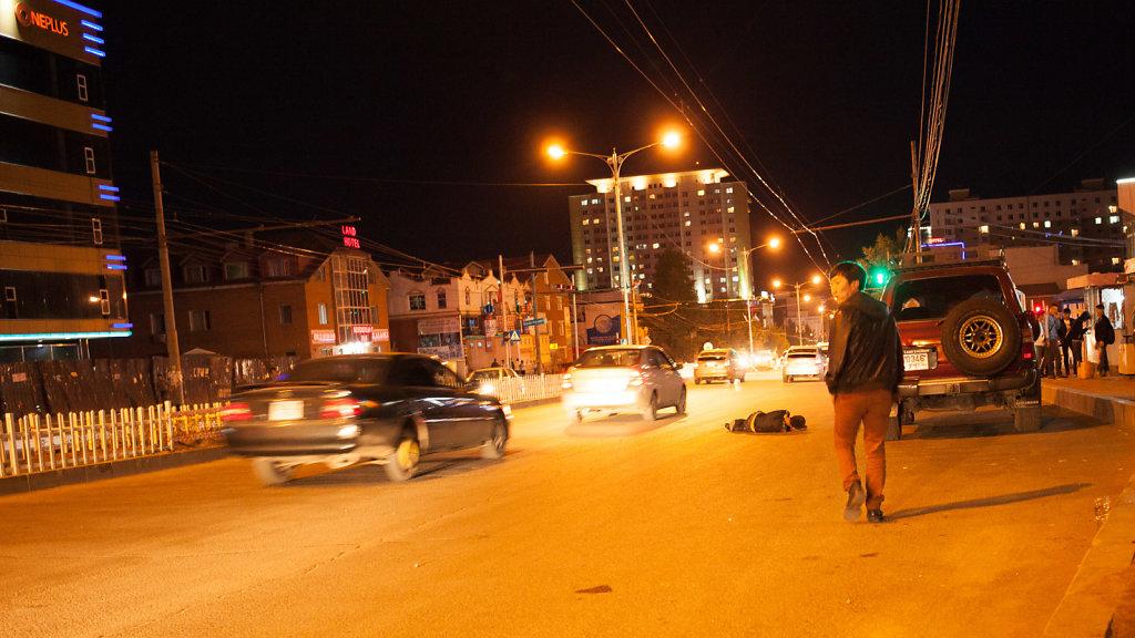 Night in UB